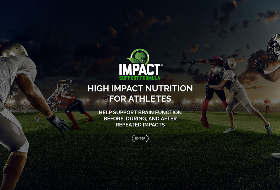 IMPACT support formula website design